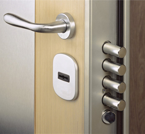 What is the difference between a security door and a security door?