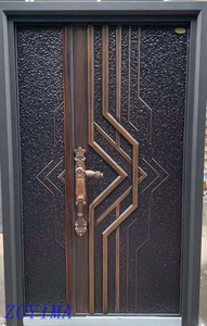 Z0YIMA/ G & K Great Door - Nigeria Popular Cast Imitation Copper Door Security ZYM-K123