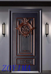 Z0YIMA/ G & K Great Door -Lxury High Quality Cast Aluminum Bullet-proof Doors ZYM-Z9807