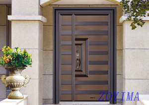 Z0YIMA/ G & K Great Door - Competitive Price Exterior Door like Pure Copper Door ZYM-T7021