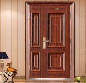 Key points of double-opening security door size and installation