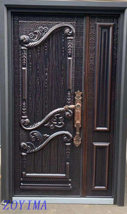 Z0YIMA/ G & K Great Door - Nigeria Popular Cast Aluminium Imitation Copper Door ZYM-K121