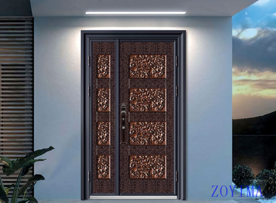 Z0YIMA/ G & K Great Door -Nigeria Luxry Competitive Glavanized Door ZYM-N8067