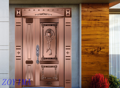 Z0YIMA/ G & K Great Door Pure Copper Door FD-T3