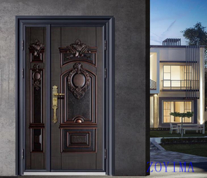 Z0YIMA/ G & K Great Door -Luxry Competitive Glavanized Exterior Door ZYM-N9116