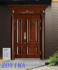 Z0YIMA/ G & K Great Door-China Steel Security Doors G-P18