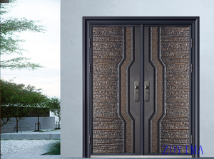 Z0YIMA/ G & K Great Door -Nigeria Luxry Competitive Glavanized Exteriro Door ZYM-N8017
