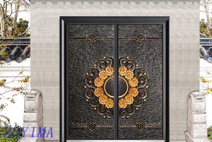 Z0YIMA/ G & K Great Door -China Metal Seucrity Door ZYM-M2066 Double Door