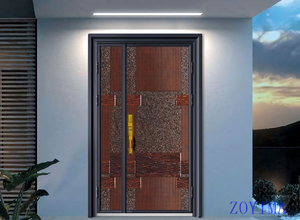 Z0YIMA/ G & K Great Door -Nigeria Luxry Competitive Glavanized Exteriro Door ZYM-N8059