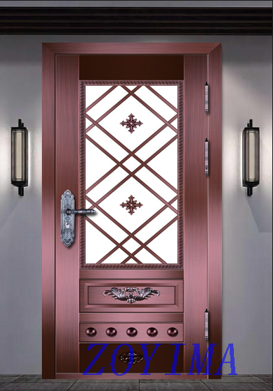 Z0YIMA/ G & K Great Door Pure Copper Door FD-T1