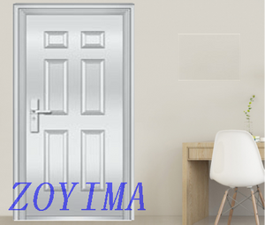 Z0YIMA/ G & K Great Door - Toughened Stronger Stainless Steel Glasses Doors ZYM-S6727